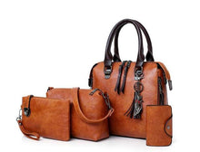 Load image into Gallery viewer, Leather handbags set - Les Value