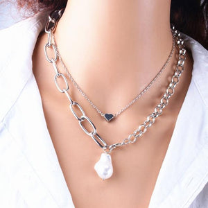 Hong Kong pearls Necklaces - Les Value