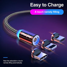 Load image into Gallery viewer, Best magnetic charging cable For iphone Samsung - Les Value