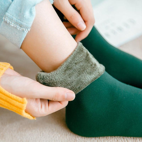 Women Woolen velvet Socks