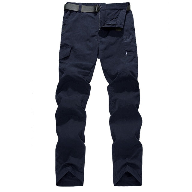 Men Trousers Online  |  Cargo Waterproof Trousers | Quick Dry Pants for Summer - Les Value