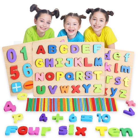 3D Wooden Puzzles Educational Toys - Les Value
