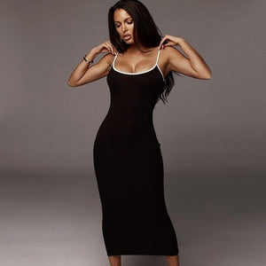 Slim bodycon holiday dresses - Les Value