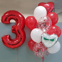 Load image into Gallery viewer, Helium Number Birthday Balloons - Les Value