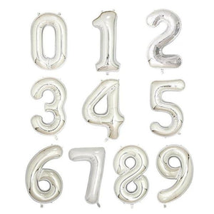 Helium Number Birthday Balloons - Les Value