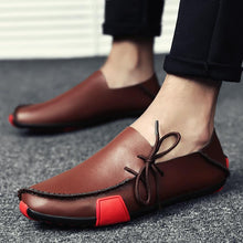 Load image into Gallery viewer, Soft leather loafers for men - Les Value