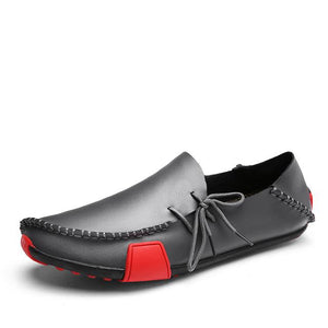 Soft leather loafers for men - Les Value