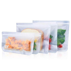 Silicone Food Containers Leakproof Bag - Les Value