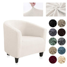 Load image into Gallery viewer, Stretch Arm Chair Cover | King Chair Seat Covers - Les Value