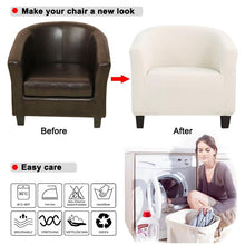 Laden Sie das Bild in den Galerie-Viewer, Stretch Arm Chair Cover | King Chair Seat Covers - Les Value