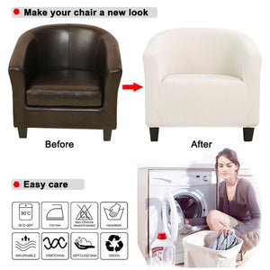 Stretch Arm Chair Cover | King Chair Seat Covers - Les Value