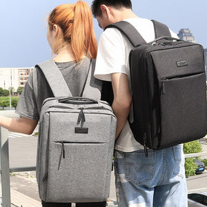 Laptop backpack with charging port - Les Value