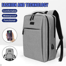 Load image into Gallery viewer, Laptop backpack with charging port - Les Value