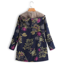 Load image into Gallery viewer, Winter Floral Jacket - Les Value