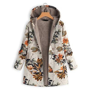 Winter Floral Jacket - Les Value