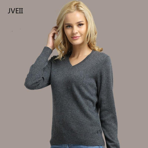 Women V-neck Sweater