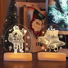 Load image into Gallery viewer, Merry Christmas 3d lamps - Les Value