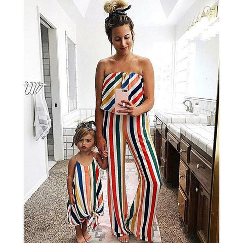 Mother daughter matching outfits - Les Value