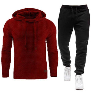 Men Fashion Tracksuit Set - Les Value
