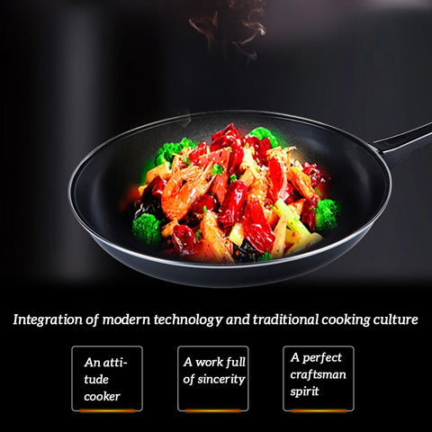 NonStick Frying Pan for Gas and Induction - Les Value