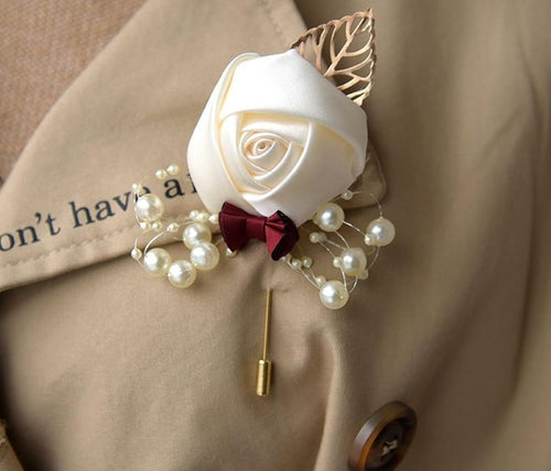Wedding Flower Brooch - Les Value