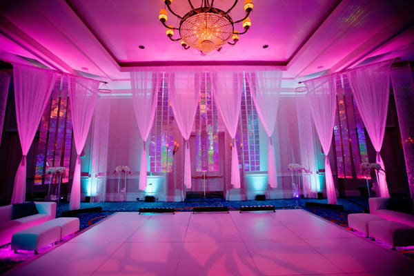 5 Wedding Reception Lighting Tips