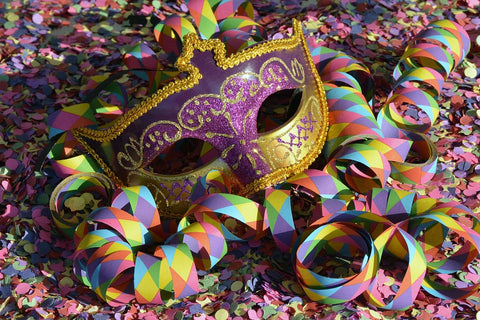 colorful mask for a maquerade