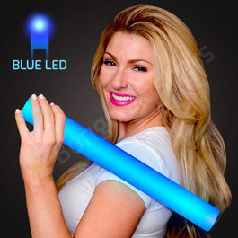 "16"" Foam Blue LED Cheer Sticks"
