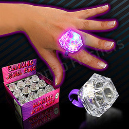 LED Diamond Ring- 12 Pack