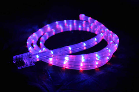 3 Color LED Ropelight - Jade/Red/Blue