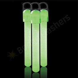 4 Inch Standard Glow Sticks - Green