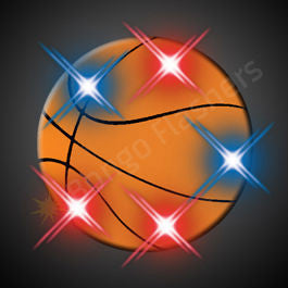 BASKETBALL PIN LED BLINKIES