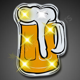 BEER MUG BLINKING LIGHTS