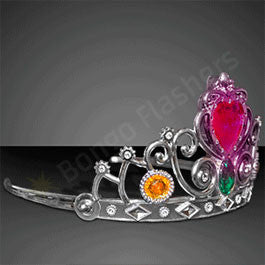 BLINKING HEART PRINCESS CROWN TIARA