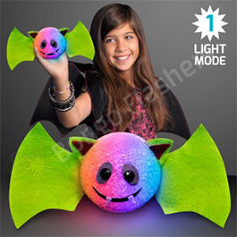 BLINKING LIGHT BAT HALLOWEEN DECORATION