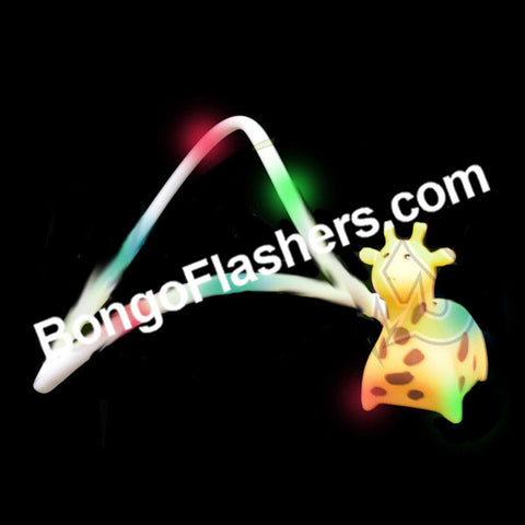 GIRAFFE FLASHING LANYARD (1 PIECE)
