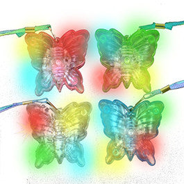 Butterfly LED Necklace - Assorted Colors