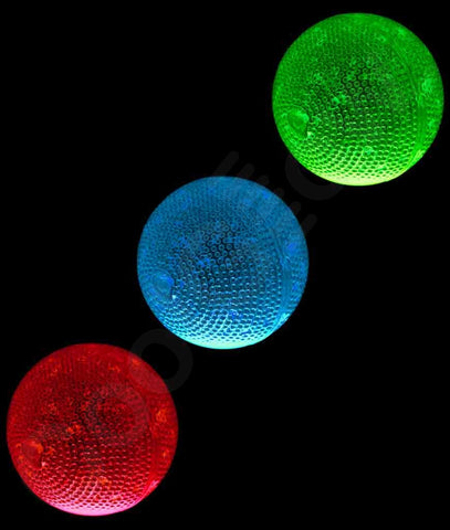 2.5 Inch Glow Bouncy Ball - Assorted (3/pack)