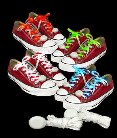 LED Cloth Shoe Laces- Assorted