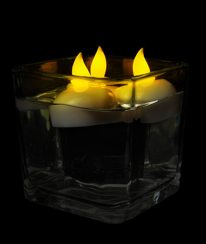 LED Waterproof Tealights - 10ct