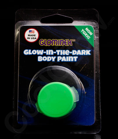 Glominex Glow Body Paint Single Pack Clamshell - Green
