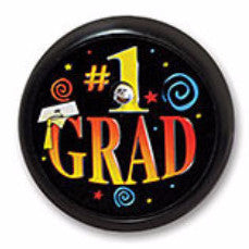 #1 Grad Blinking Button - 2""