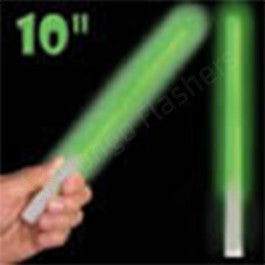 Green Concert Glow Sticks green