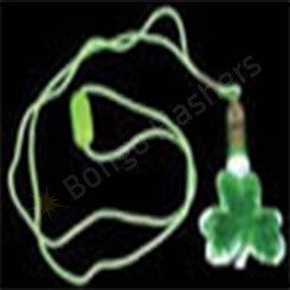 Crystal Shamrock Necklace