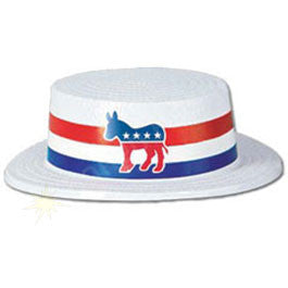 Democratic Party Skimmer Hat
