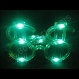 Dollar Sign Flashing Glasses