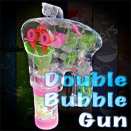 Double Bubble Gun - 2 Spouts