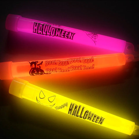 6-inch Halloween Glow Sticks (Pack of 10)