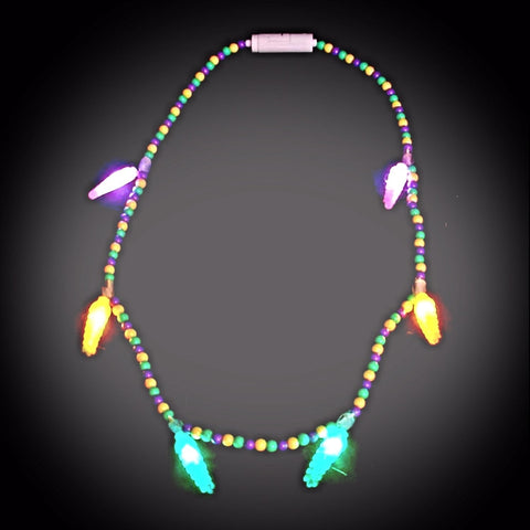 Voodoo Mardi Gras Necklace