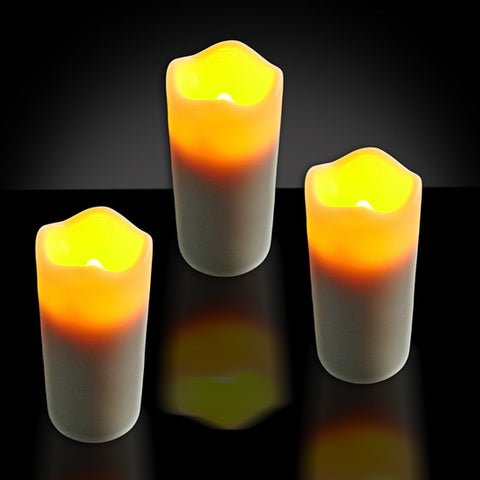3 by 1.4-inch LED Votive Candle with Timer